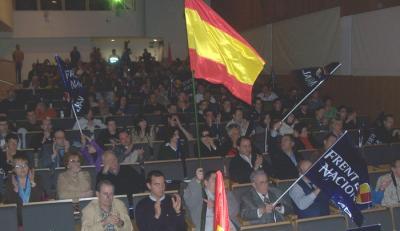CRONICA DE LA PRESENTACION DEL FRENTE NACIONAL EN CANTABRIA